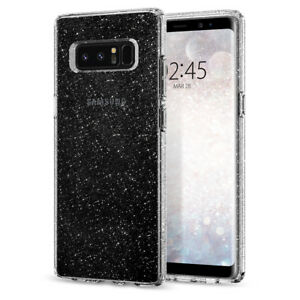 Samsung-Galaxy-Note-8-Case-Spigen-Liquid-Crystal-Glitter-Slim-Bling-TPU-Cover