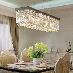 Modern-Contemporary-K9-Crystal-Pendant-Light-Ceiling-Lamp-Chandelier-Lighting