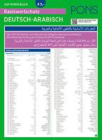 PONS Deutsch-Arabisch lernen Basiswortschatz für Araber praktische Klappkarte