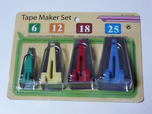 18 mm et 25 mm Set de 4 12 mm Appareils à biais de 6 mm