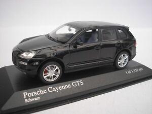 Porsche-Cayenne-GTS-2006-Negro-1-43-Minichamps-400066280-Nuevo