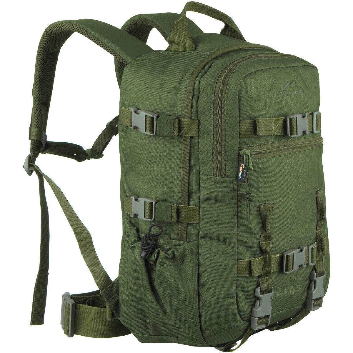 Wisport Ranger 30L Esercito Militare Idratazione Zaino Caccia Zaino verde Oliva