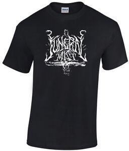 Funeral Mist Logo T-shirt Marduk Blaze Of Perdition Watain Dark Funeral Ondskapt-afficher Le Titre D'origine ExtrêMement Efficace Pour Conserver La Chaleur