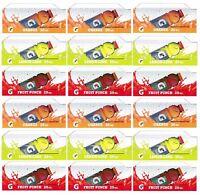 Qty 18 - 20 Oz Gatorade (g) Flavor Strips For Soda Vending Machines, 3 Flavors