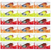 Qty 18 - 20 Oz Gatorade (g) Flavor Strips For Soda Vending Machines, 3 Flavors