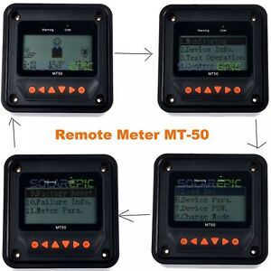 Details about Remote Meter MT50 For Epever MPPT Solar Charge Controller  Solarepic MT-50 Meter