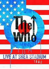THE WHO - LIVE AT SHEA STADIUM 1982  DVD NEU