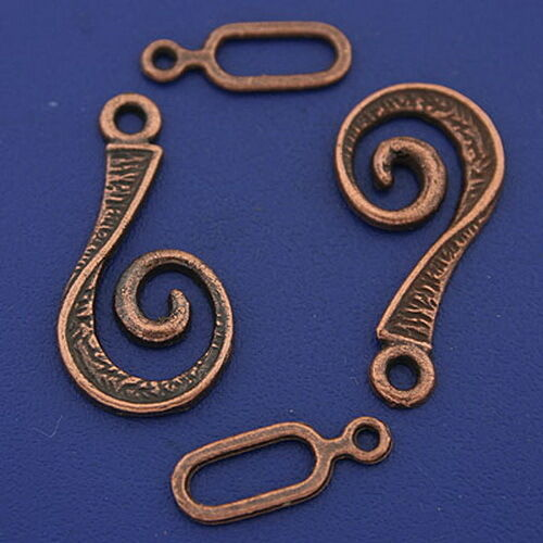 17sets copper tone toggle clasps h3348