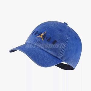 the best attitude 56ed1 7cd1b Image is loading Nike-Jordan-Heritage-Jumpman-Adjustable-Cap-Air-Hat-