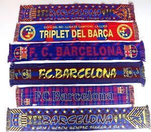 Image is loading Barcelona-Scarf-Barca-Vintage-Football-Scarves-Bufanda -Futbol- 20ac5a6b219