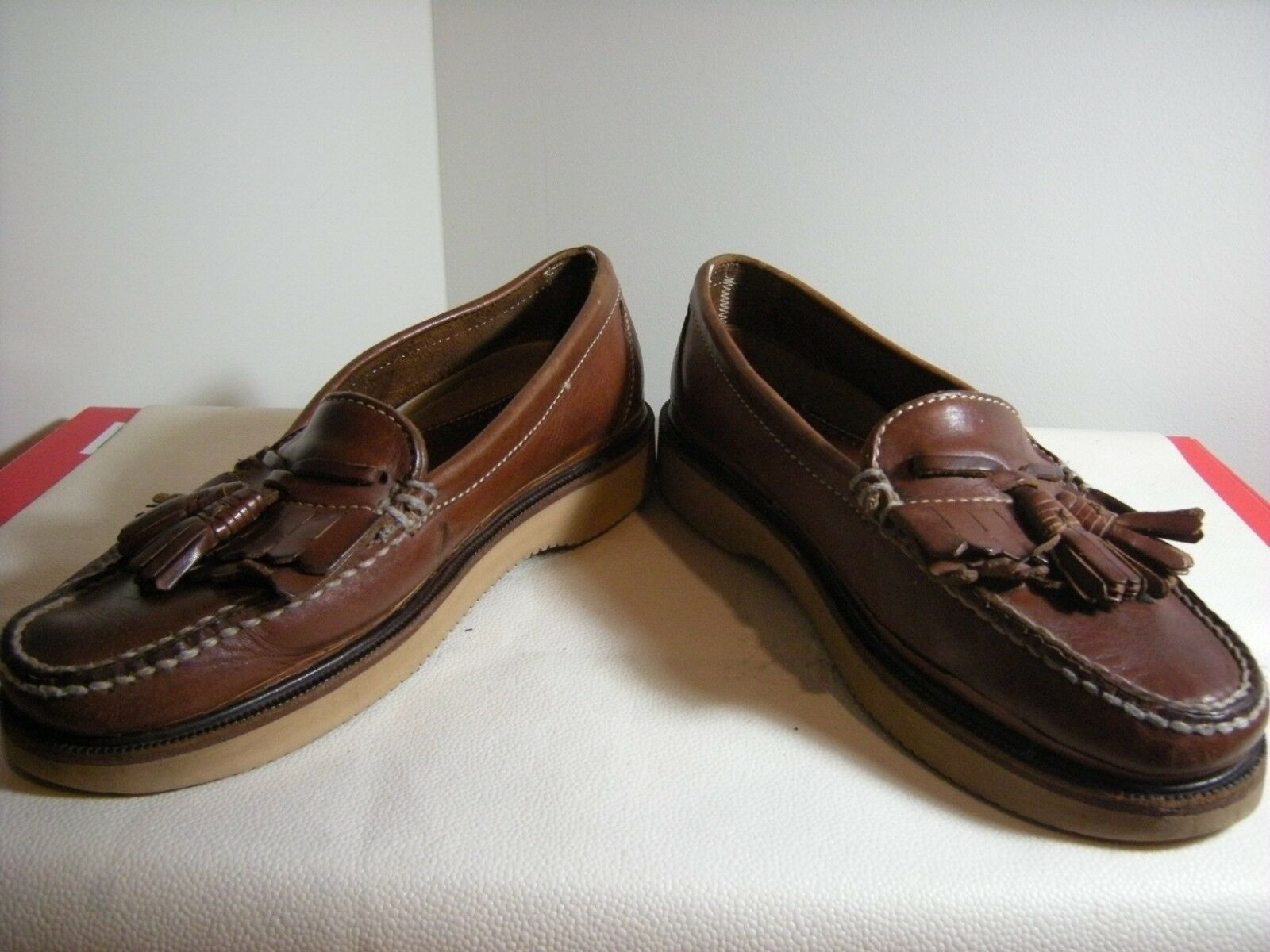 Johnston & Brown, Murphy Men's Tassel Loafer Brown, & 9 M 6ffb03