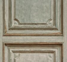 Vliestapete Rasch Crispy Paper Holzvertäfelung grün beige 524413 (2,35€/1qm)