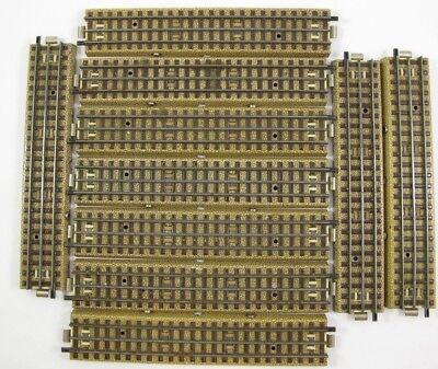 Märklin 10x Gleis gerade 1//1 5106 mit Originalkarton