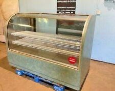 Royal Hd Commercial Lighted Curved Glass Dry Bakery Merchandiser Display Case