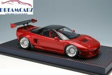 Idea 1/18 Rocket Bunny NSX 6666 Wheels Candy Red IM022A1 Ing