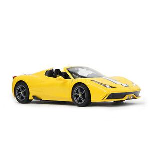 Ferrari 458 Speciale A capote 1:14 jaune