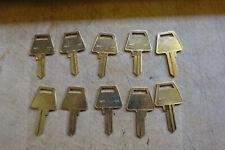 10 Taylor Brand American Padlock Key Blanks 5 Pin