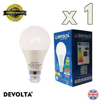ES E27 GLS Lamp Light Bulbs Cool Day White A+ DEVOLTA 10W LED 60W//100W
