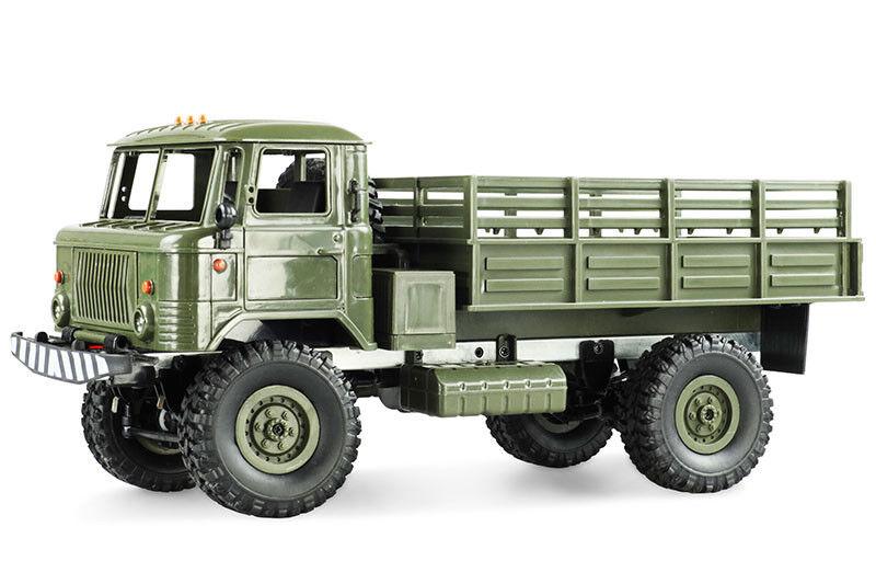 Bausatz GAZ-66 LKW 4WD 1 16 16 16 mit richtigen Servo green NEU 2bf9b2