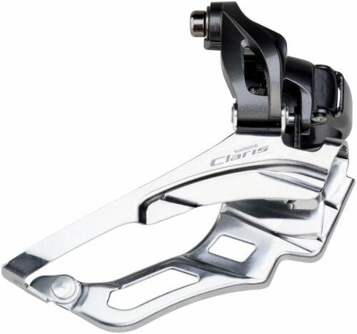 Shimano Claris Road Bike Front Derailleur 50t Max Bottom Pull 3 x 8 Speed