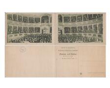 GALLARATE Teatro Condominio 1921, non viaggiata  (c5)