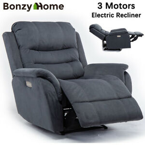 Power-Recliner-Chair-Vevelt-Fabric-Padded-Armrest-Seat-Heavy-Duty-Sofa-3-Motors