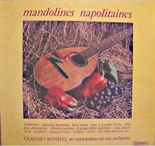 CLAUDIO BONELLI mandolines napolitaines LP MUSIDISC ciribiribin/luna rossa NM++