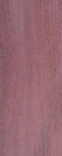 "PURPLEHEART 1//4/"" x 3-3.75/"" x 35/"" HARDWOOD THIN WOOD"