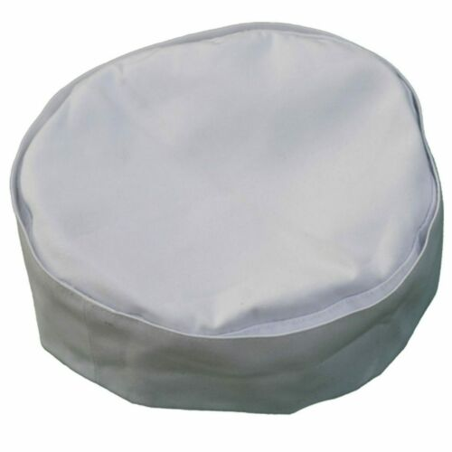Chefs cap skull cap white polycotton universal fit