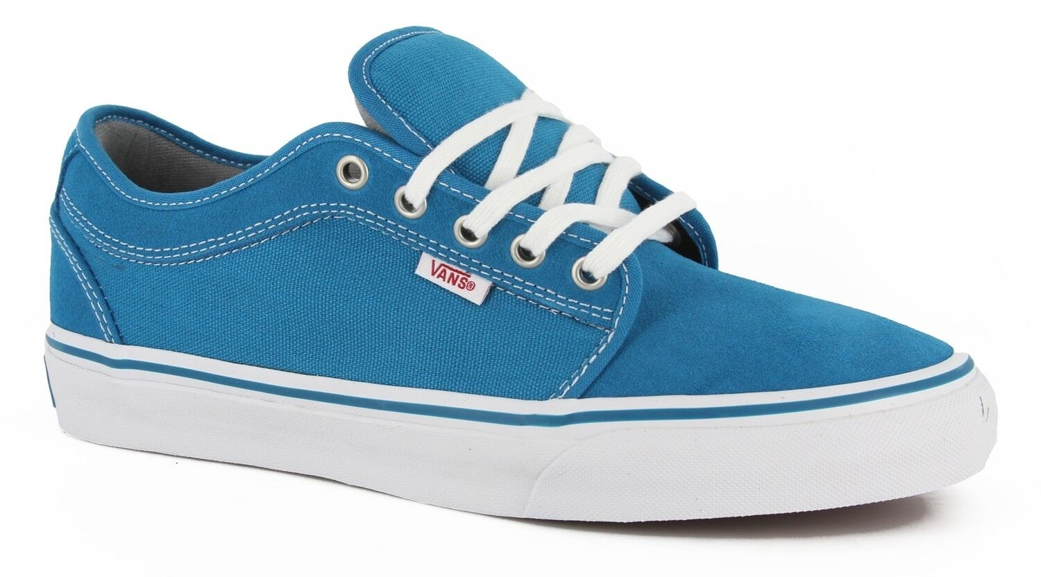 NEW VANS CHUKKA LOW LAGOON blueE SZ SIZE WOMENS 8.5 25 CM SHOES MENS 7 NIB AQUA