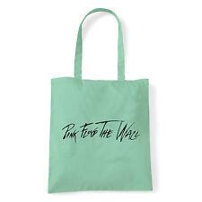 Art T-shirt, Borsa shoulder Pink Floyd The Wall, Menta, Shopper, Mare