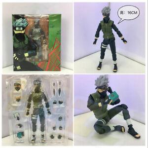 Anime-Naruto-Shippuden-Hatake-Kakashi-6-034-Pvc-Figura-Estatua-Modelo-Juguete-Regalo-en-Caja