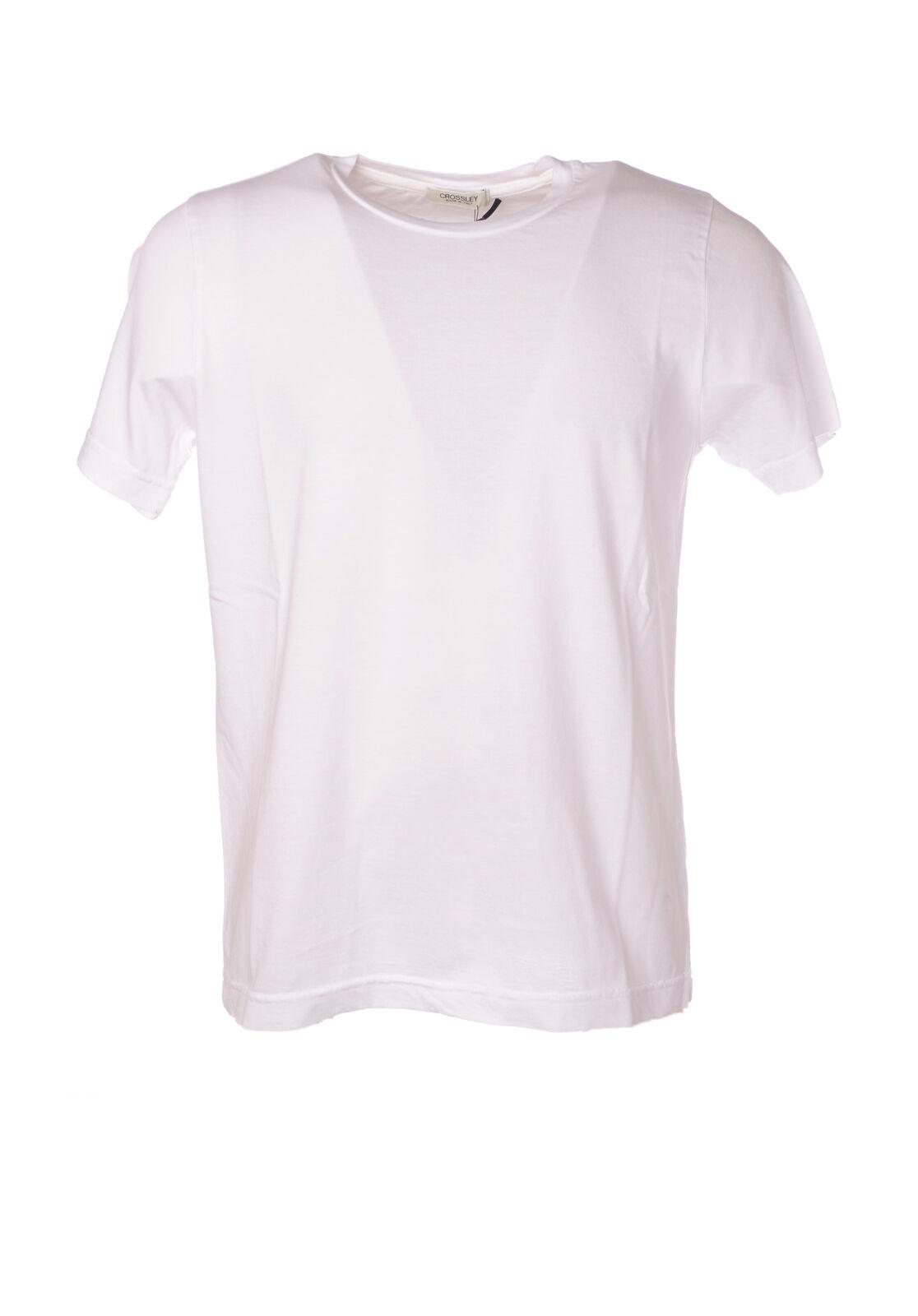 CROSSLEY - Topwear-T-shirts - Man - Weiß - 5056612C184015