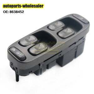 Fit-1998-2000-Volvo-XC70-V70-S70-LH-Electric-Power-Window-Master-Control-Switch