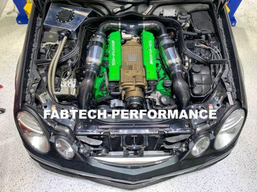 Carbon Fiber Mercedes Benz E55 AMG Intake Scoops AMG  Supercharger Performance