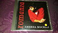 CD Andrea Bocelli / Romanza - Pop Album 1996