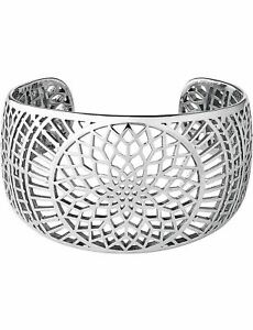 LINKS OF LONDON Timeless Sterling Silver Openwork Cuff Bracelet M RRP500 NEW