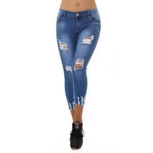 Jeans Denim Ladies Skinny Jeans 7/8 Jeans Trousers Used