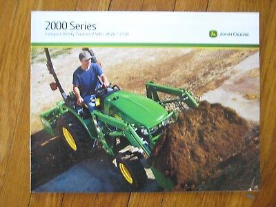 John Deere 2320 2520 2720 Tractor Brochure