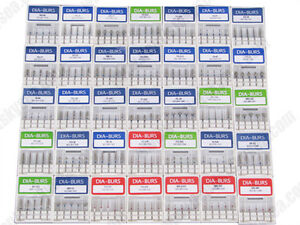 100-Pcs-Dentale-diamante-Frese-Diamond-Burs-FG1-6mm-for-High-Speed-Handpiece