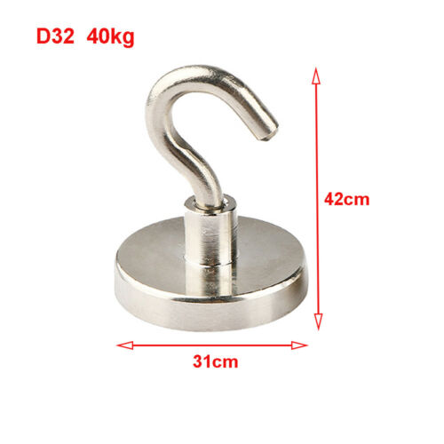 D25//D32//D36 Recovery Magnet Hook Strong Sea Fishing Diving Treasure Hunting