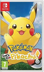POKEMON-LET-039-S-GO-PIKACHU-PER-NINTENDO-SWITCH-NUOVO-DA-NEGOZIO-ITALIANO
