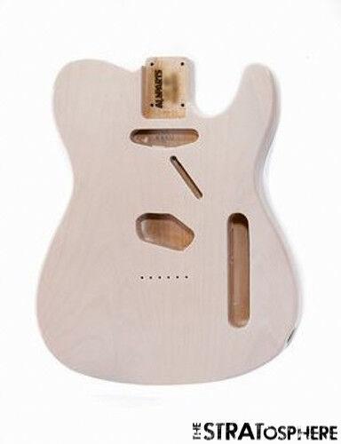 NEW Fender Lic Telecaster BODY for Fender Tele Weiß Blonde Transparent TBF-WH