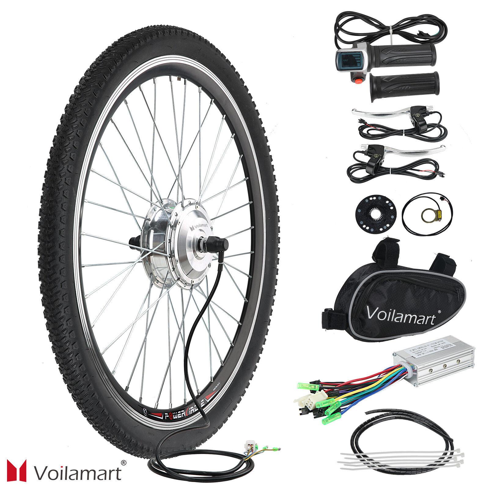 "Vorderrad 36V 250W 26"" Zoll E-Bike Conversion Kit Kit Kit Elektrofahrrad Umbausatz Neu 3c3f97"