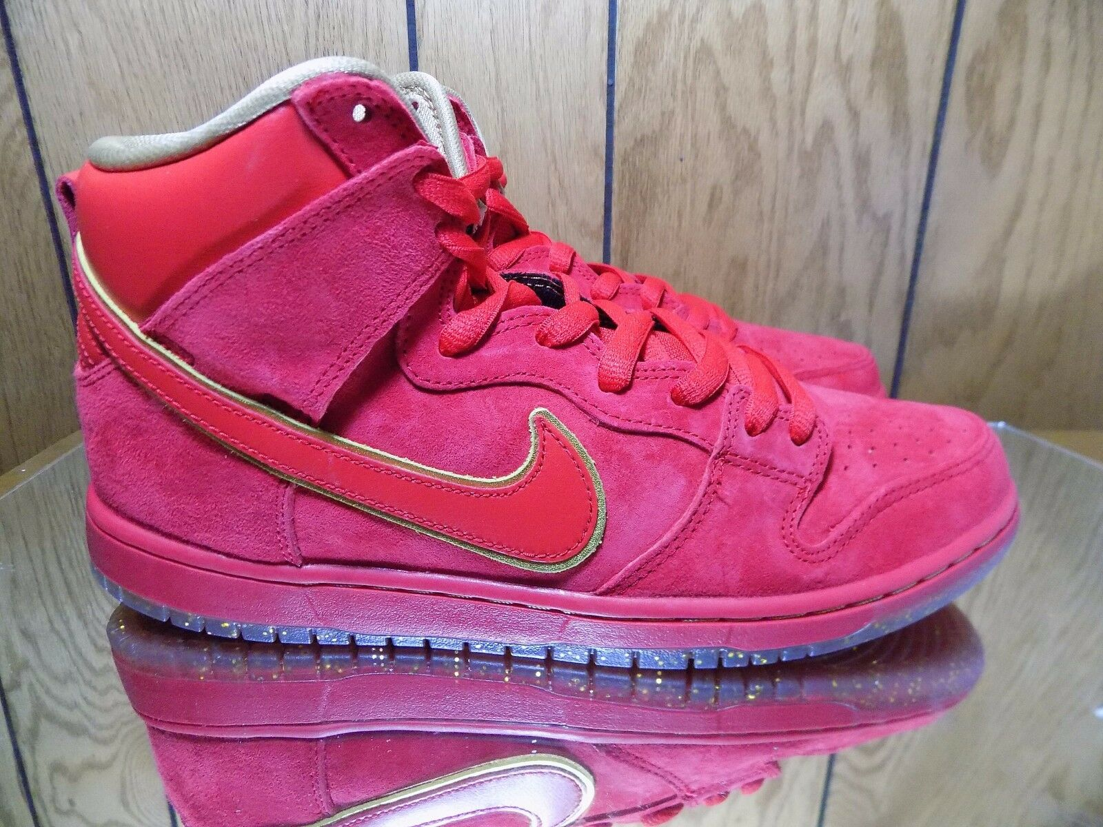 Nike SB Dunk High Low CNY Chinese New Year YOTH Sz 10