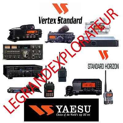 Yaesu FT-2000 CD SERVICE /& OWNER/'S MANUALS CAT /& DMU-2000 Radio Book on CD