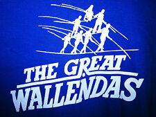 GREAT WALLENDAS tightrope logo T shirt XL daredevil stunt performers Nik circus