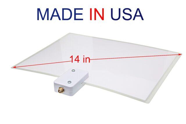Supertenna  Digital HDTV Antenna Indoor clear TV Thin as a Leaf UHF VHF Flat