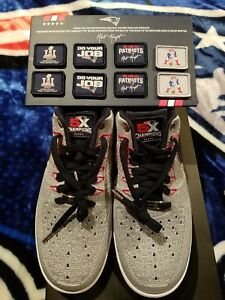 reputable site f53b6 f2d27 Details about Nike Air Force 1 Flyknit Low RKK Sz11- 5 X Superbowl Champs -  A must collectable