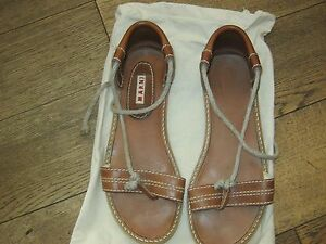 Women-039-s-Marni-Flat-Sandals-Size-5